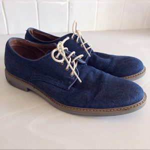 Alfani Men's Cooper Casual Lace-Up Oxfords in Navy
